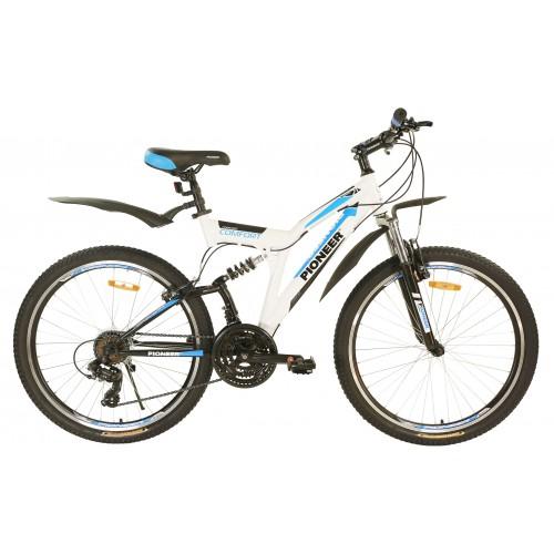 """Велосипед горный двухподвесный Pioneer Comfort - 26""""x17"""""""