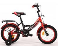 """Велосипед детский Raven 14"""" black-red"""