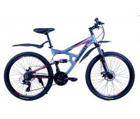 """Велосипед горный двухподвесный Pioneer Safari - 26""""x17"""""""