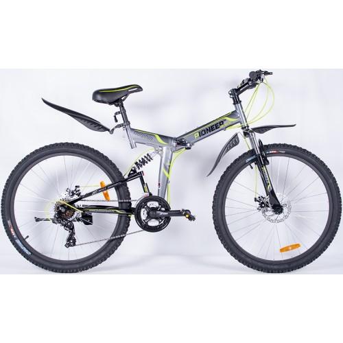 """Велосипед горный двухподвесный Pioneer Dolphin - 26""""x19"""""""